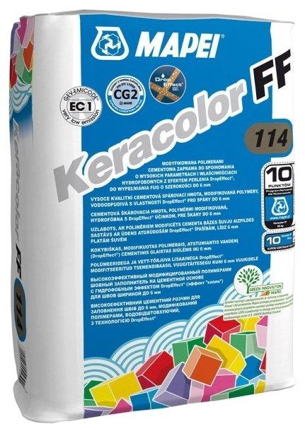 Затирка Mapei Keracolor FF 22 кг