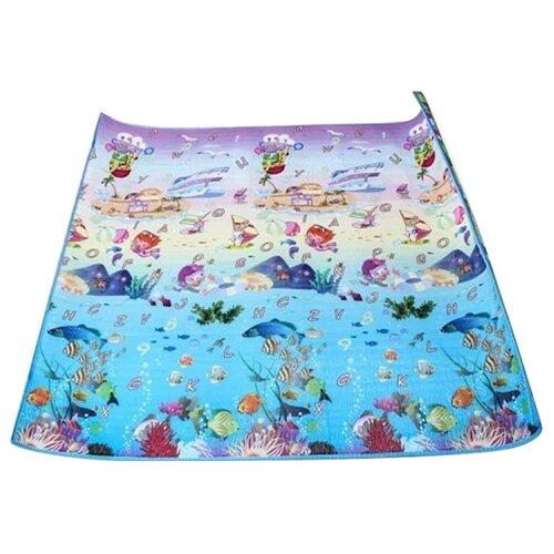 Купить Коврик Babypol Подводный мир + Деревня (004182010), Игровые коврики