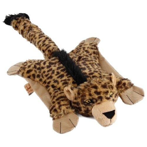 Игрушка для собак D&D Летящий Леопард бежевый
