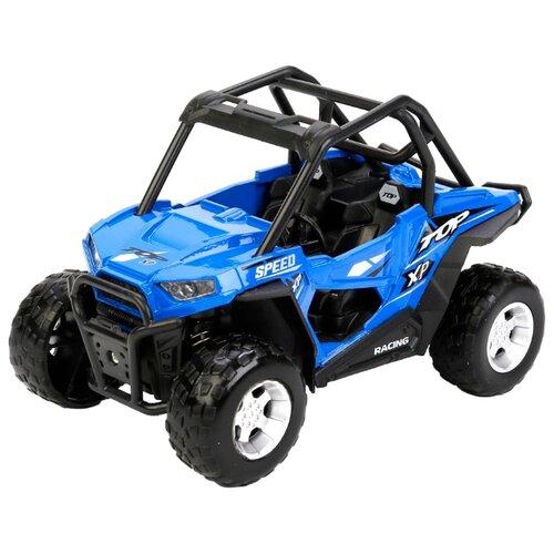 Купить Багги ТЕХНОПАРК со светом и звуком (FY8033A-S) 13 см синий, Машинки и техника