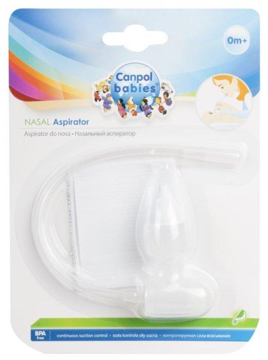 Механический аспиратор Canpol Babies назальный 56/007 0+