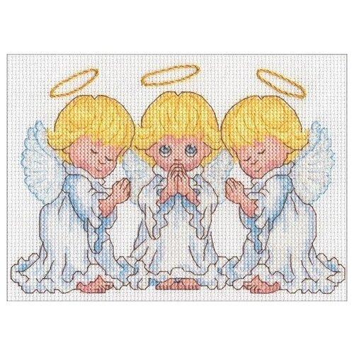 Dimensions Набор для вышивания крестиком Little Angels 17, 7 х 12, 7 см (65167)