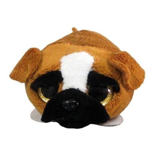 Купить Мягкая игрушка Yangzhou Kingstone Toys Собачка коричневая 5 см, Мягкие игрушки