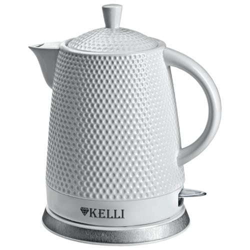 Чайник Kelli KL-1338, белый