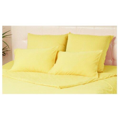 Комплект наволочек Kupu-Kupu Violett трикотаж, 2 шт. (KHV-77) 70 х 70 см желтый