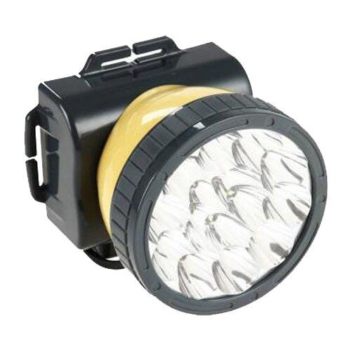 Налобный фонарь Яркий Луч LH-15A черный/желтый
