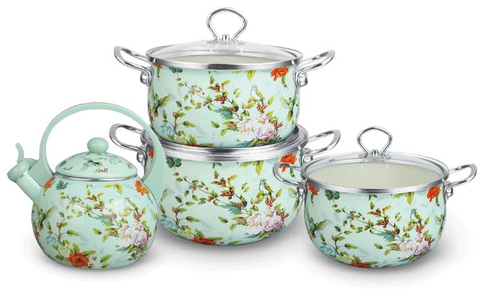 Набор посуды Kelli KL-4121/4123 7 пр.