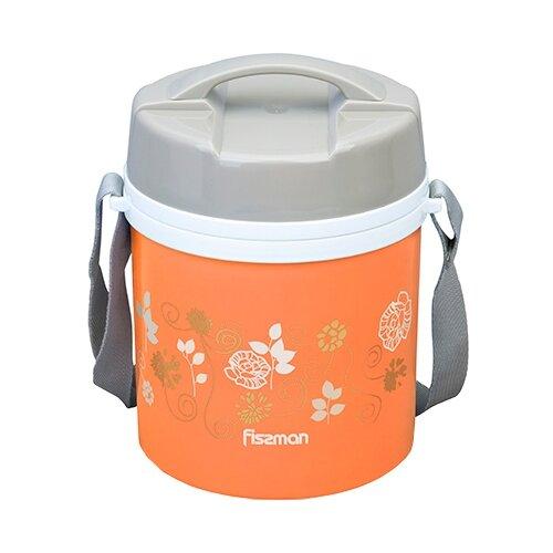 Термос для еды Fissman 7940/7941, 1.4 л оранжевый