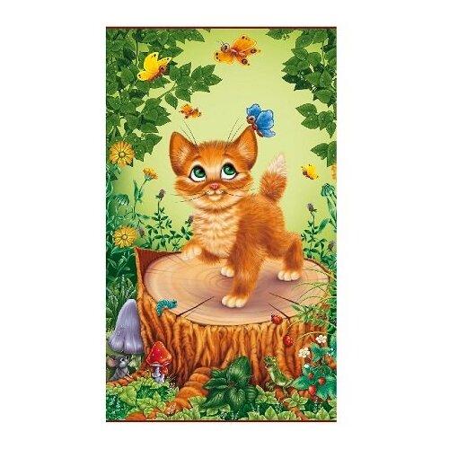 Инфракрасный пленочный обогреватель Домашний очаг настенный котенок