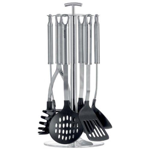 Набор навесок Nadoba Anezka 721118 (7 шт.) черный / серебристый набор кухонных принадлежностей nadoba anezka