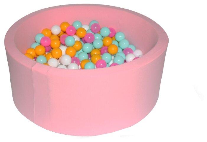 Детский бассейн Hotenok Розовый цветок (sbh015)