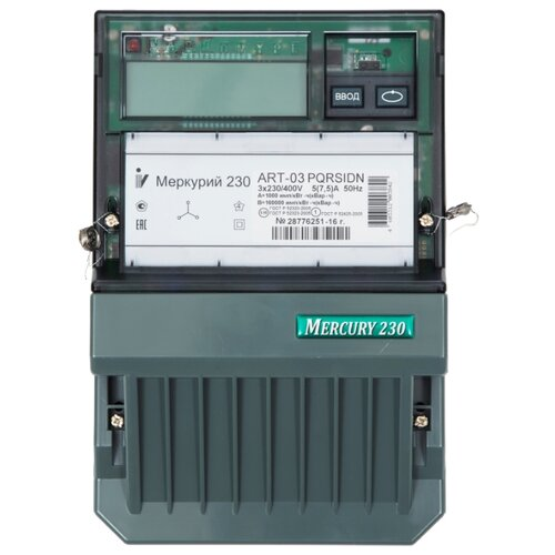 INCOTEX Меркурий 230 ART-03 PQRSIDNСчетчики электроэнергии<br>
