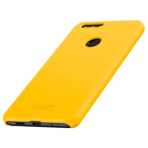 Купить Силиконовый чехол для Яндекс.Телефона желтый