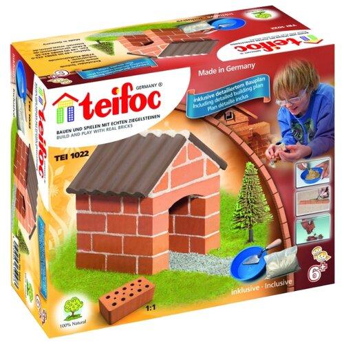 Фото - Конструктор TEIFOC Starter TEI1022 Маленький коттедж конструктор teifoc classics tei9010 цветник