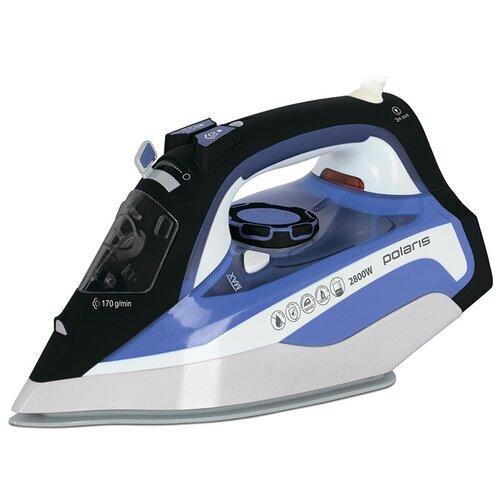 Утюг Polaris PIR 2888AK синий/белый/черный утюг polaris pir 2480aк синий фиолетовый белый