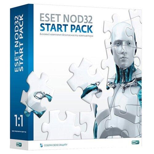 Фото - ESET NOD32 Start Pack, коробочная версия, русский, устройств: 1, срок действия: 12 мес. kaspersky internet security онлайн доктор коробочная версия русский устройств 2 срок действия 12 мес
