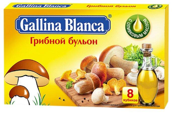 Gallina Blanca Бульонный кубик Грибной бульон (8 шт.) 80 г