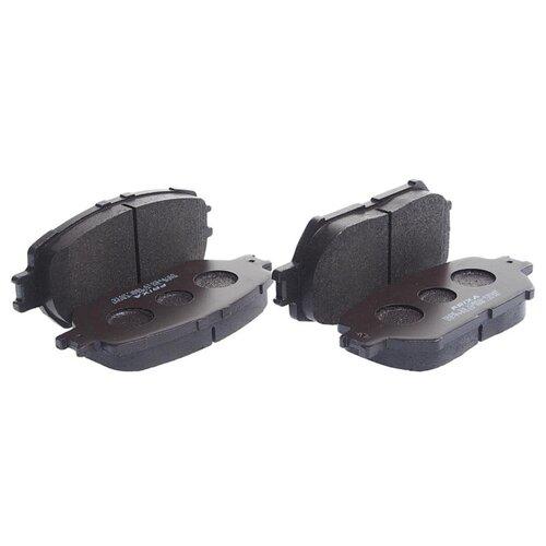 Фото - Дисковые тормозные колодки передние Frixa FPE019 для Toyota Camry (4 шт.) дисковые тормозные колодки передние nibk pn1521 для toyota camry 4 шт