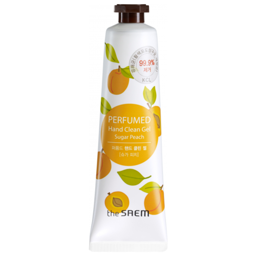 Крем-гель для рук The Saem Perfumed hand clean gel Sugar peach 30 млУход за руками<br>