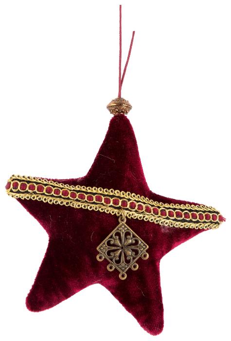 Елочная игрушка Русские подарки Звезда (170314)