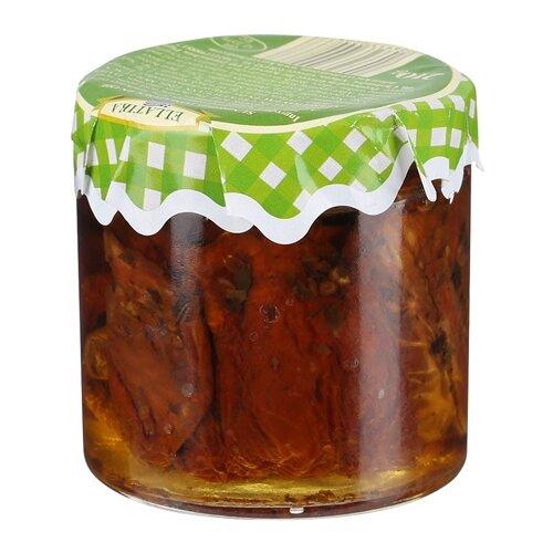 Вяленые томаты в масле ELLATIKA стеклянная банка 210 гОвощи консервированные<br>