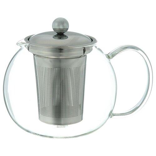 IRIS Barcelona Заварочный чайник I3322-I 700 мл, прозрачный/серебристый