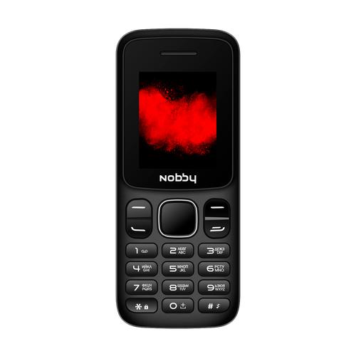 Телефон Nobby 101 черный / серый (NBP-BP-18-11)