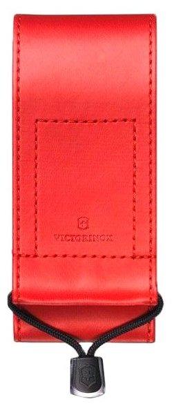 Чехол для складных ножей Victorinox 4.0548, рукоять 111 мм 2-3 уровня, натуральная кожа, цвет коричневый, крепление на пояс, Victorinox (Викторинокс)