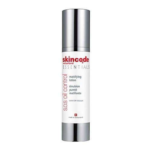 Skincode S.O.S Oil Control Mattifying Lotion Матирующий лосьон, 50 мл клинанс мат матирующий лосьон цена