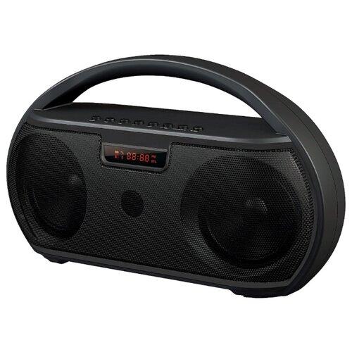 цена на Портативная акустика Ginzzu GM-879B черный