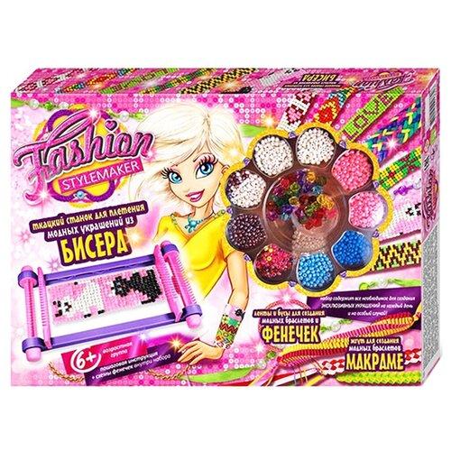 Купить Danko Toys Набор для создания украшений Fashion stylemaker. Ткацкий станок, Наборы для создания украшений