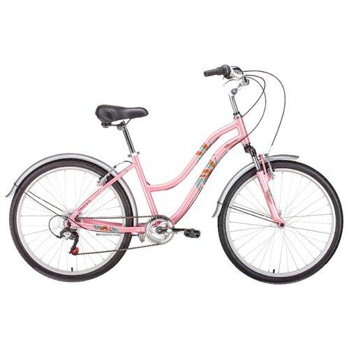 """Городской велосипед FORWARD Evia Air 26 1.0 (2019) розовый матовый 16 (требует финальной сборки) велосипед meratti protus sport 29 er 16 29"""" черный салатовый матовый"""