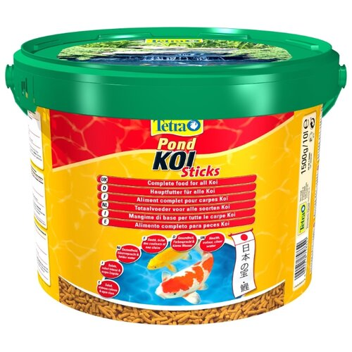 Сухой корм для рыб Tetra Pond Koi Sticks 10000 мл сухой корм для рыб tetra pond koi sticks 15000 мл