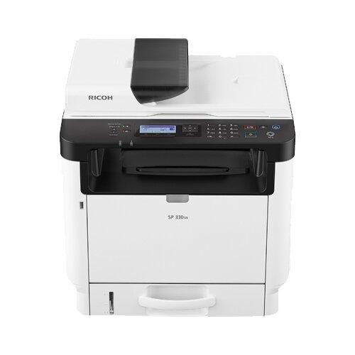 Фото - МФУ Ricoh SP 330SN, белый/черный принтер ricoh sp 330dn белый черный