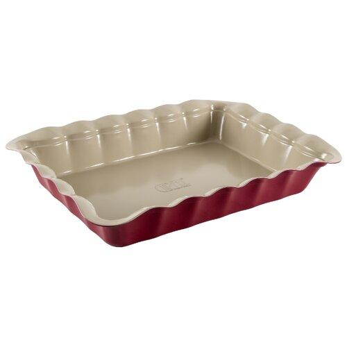 Фото - Форма для выпечки стальная GIPFEL Oven 1891 (38х28х6.4 см) форма для выпечки gipfel 1890 oven 29 5x25 5x6 6см