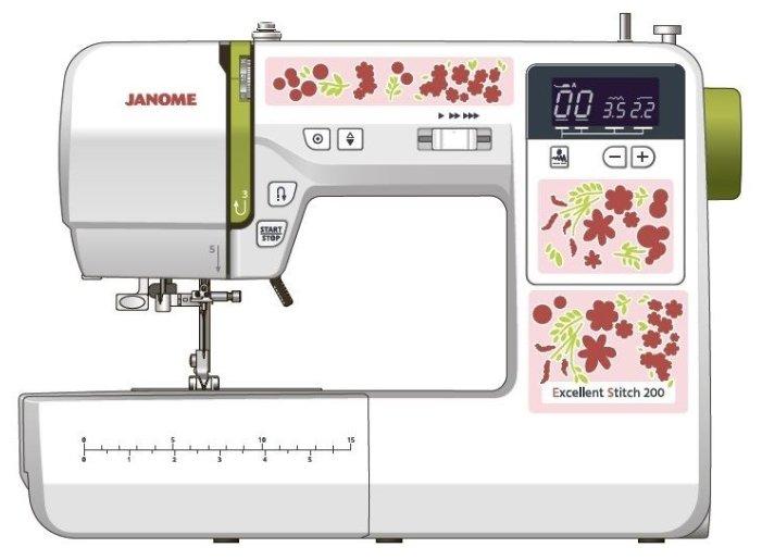 Швейная машина Janome Excellent Stitch 200 (ES 200)