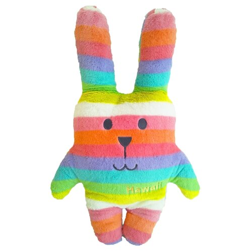Купить Игрушка-подушка Craftholic Заяц Rainbow Rab 52 см, Мягкие игрушки