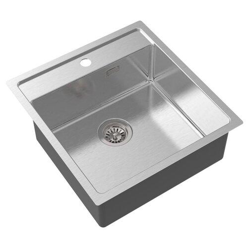 Врезная кухонная мойка 50 см Oulin OL-FUR114 OL-FUR114 сатин oulin ol va8109