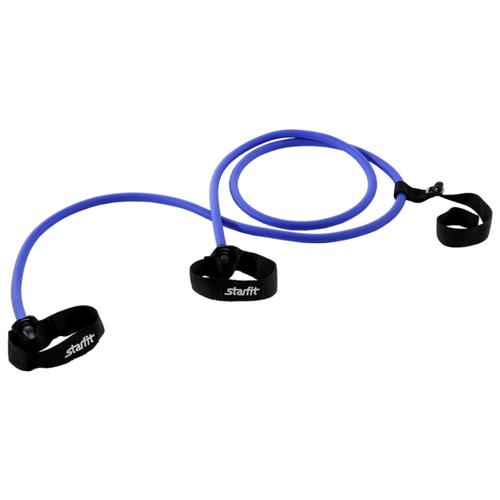 Эспандер для лыжника (боксера, пловца) Starfit ES-901 (6 кг) 220 см синий/черный эспандер для лыжника боксера пловца starfit es 901 6 кг 220 см синий черный