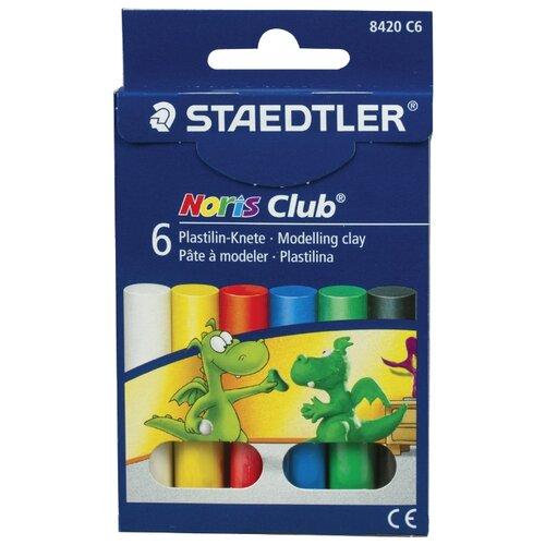 Купить Пластилин Staedtler Noris Club (8420 C6), Пластилин и масса для лепки