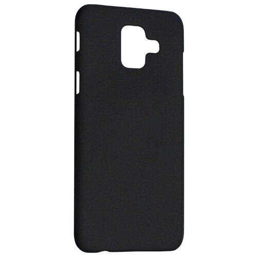Чехол Volare Rosso Soft-touch для Samsung Galaxy A6 (пластик) черный