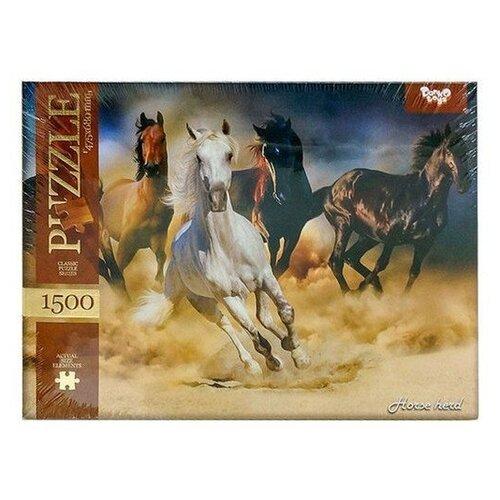 Купить Пазл Danko Toys Табун (C1500-02-08), 1500 дет., Пазлы