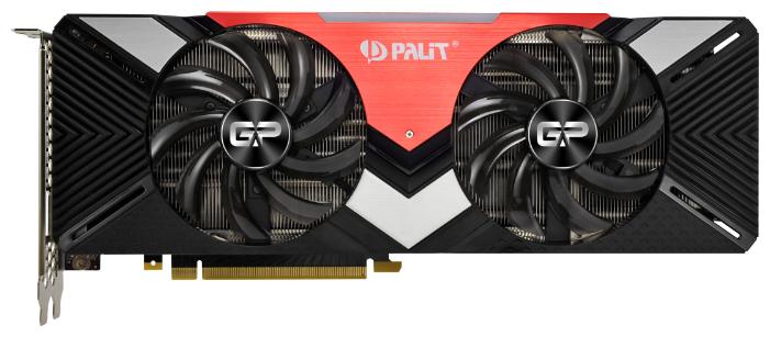 Palit Видеокарта Palit GeForce RTX 2080 1515MHz PCI-E 3.0 8192MB 14000MHz 256 bit HDMI HDCP Dual