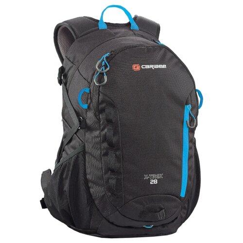 Рюкзак Caribee X-Trek 28 black (black/ice blue)