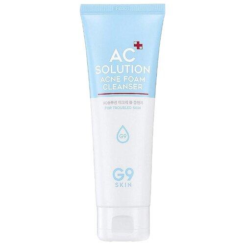 G9SKIN Пенка для умывания AC Solution Acne Foam Cleanser, 120 мл недорого