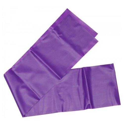 Эспандер лента Indigo IR 97627 Medium фиолетовыйЭспандеры и кистевые тренажеры<br>