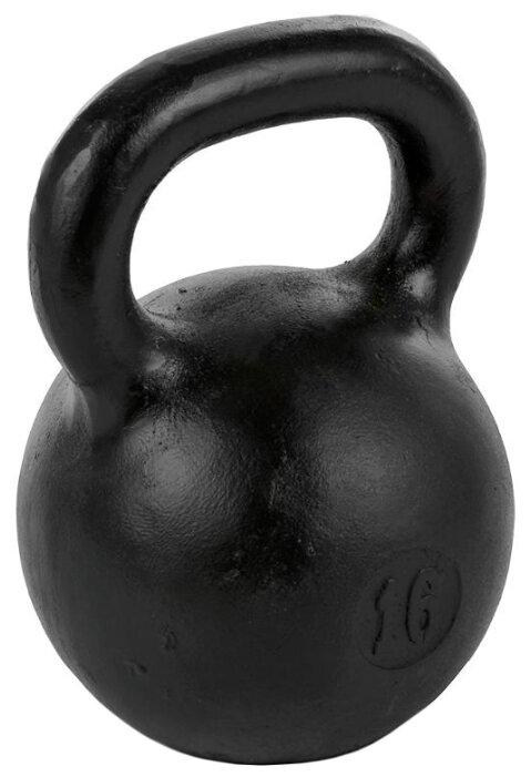 Гиря цельнолитая TITAN любительская 16 кг