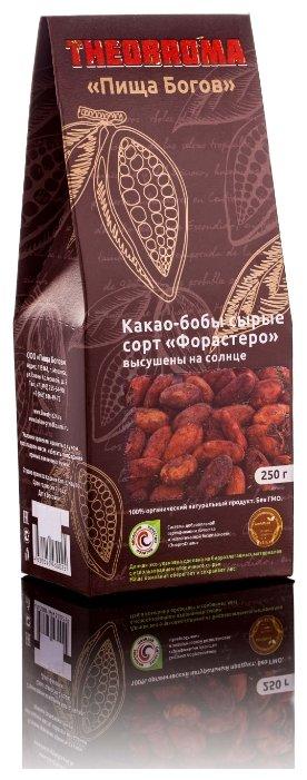 Theobroma Пища богов Какао-бобы Форастеро необжаренные