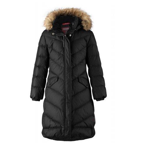 Купить Пуховик Reima Satu 531352 размер 134, черный, Куртки и пуховики