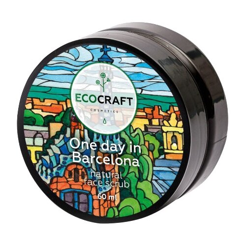 EcoCraft скраб для лица One day in Barcelona 60 мл